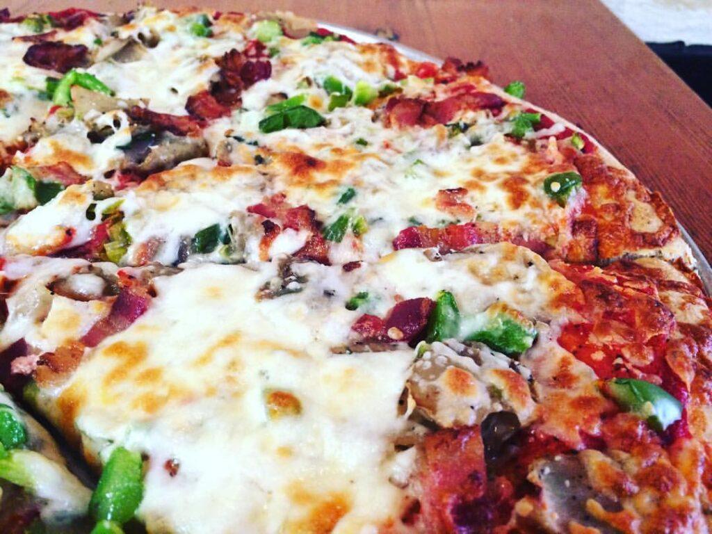Brickyard pizza